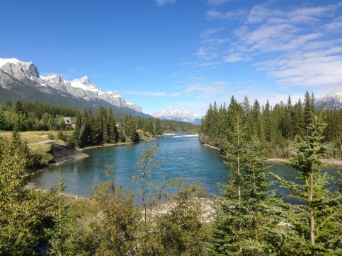 The Bow River from Prospect Heights.